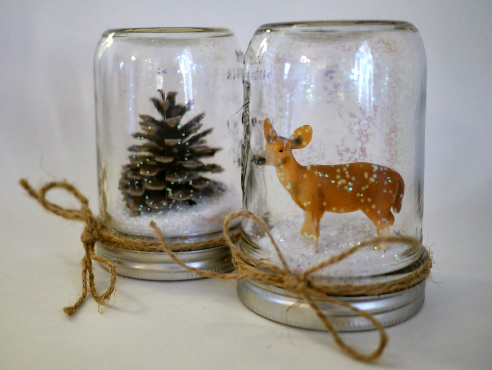 little hiccups diy waterless snow globes