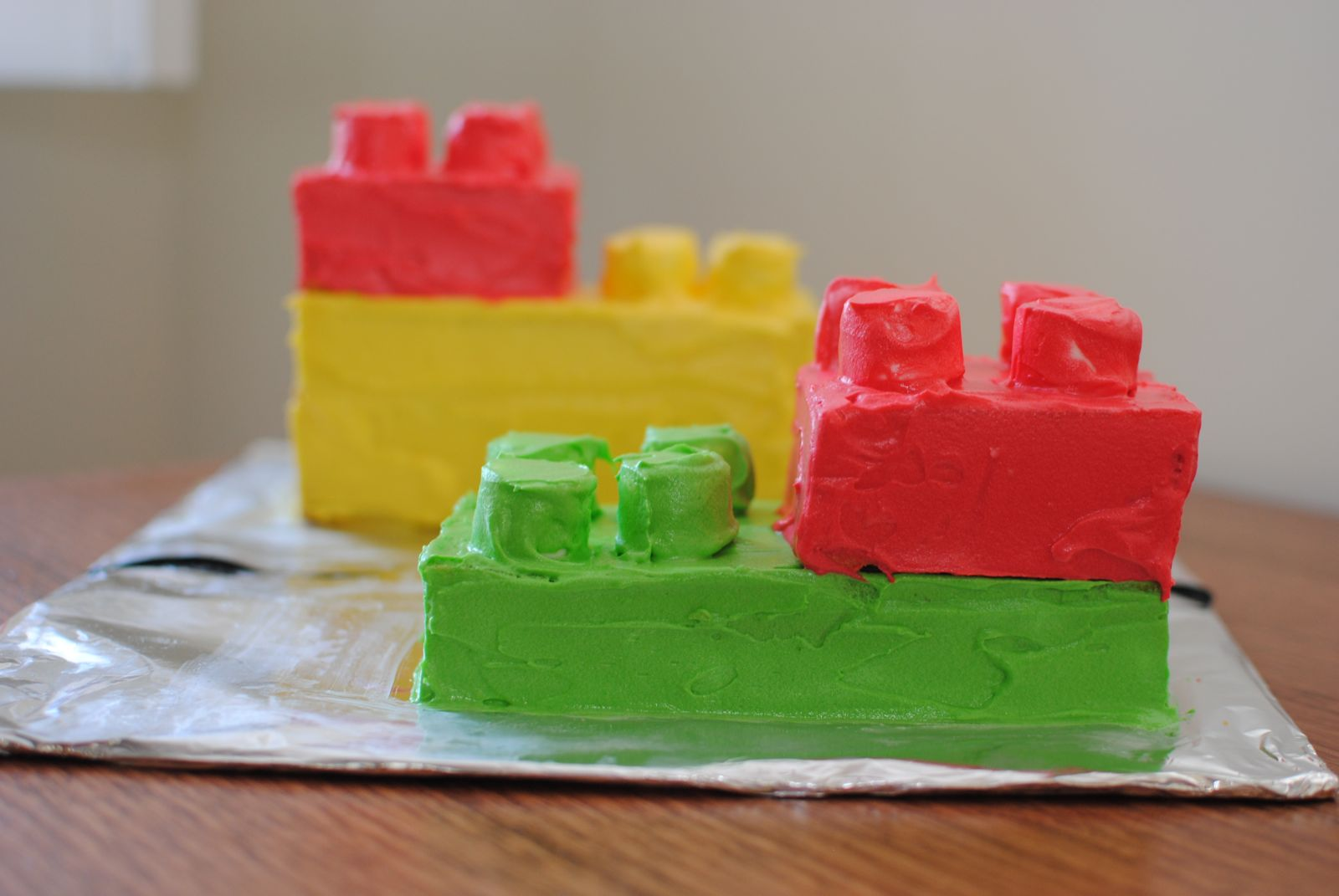 Recipes For Lego Party Cakes