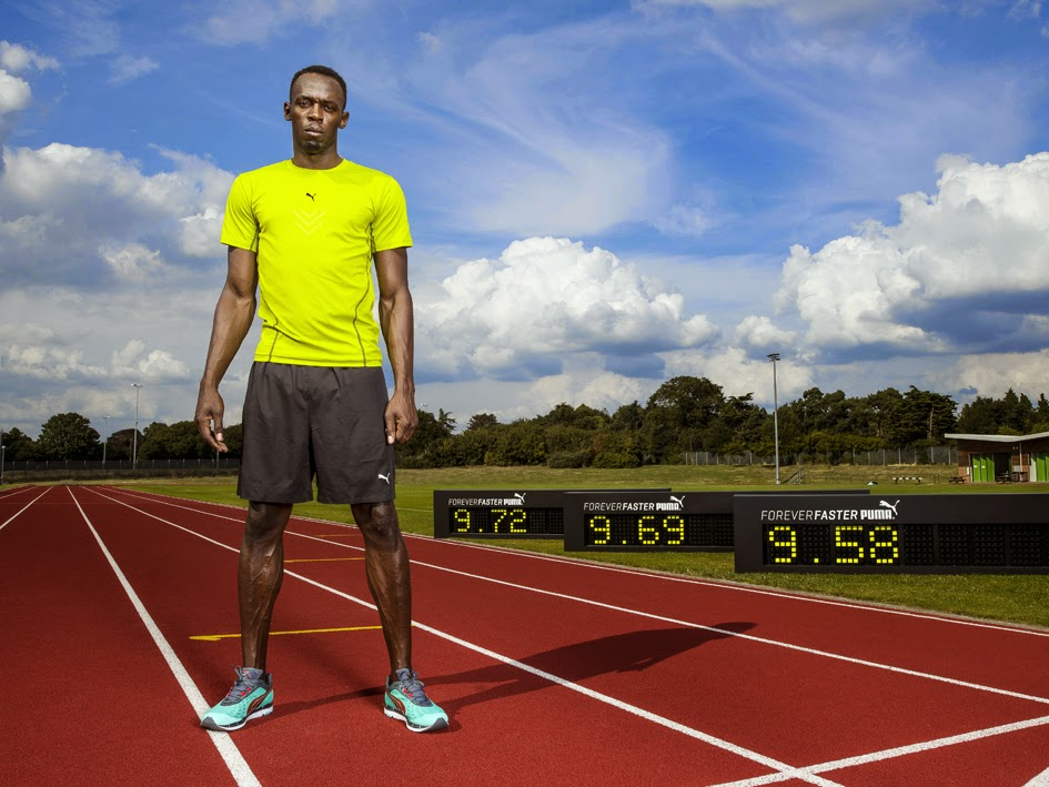 Usain Bolt Puma Forever Faster