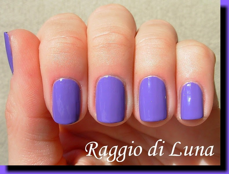 Raggio di Luna Nails: Flormar Neon N09 Purple