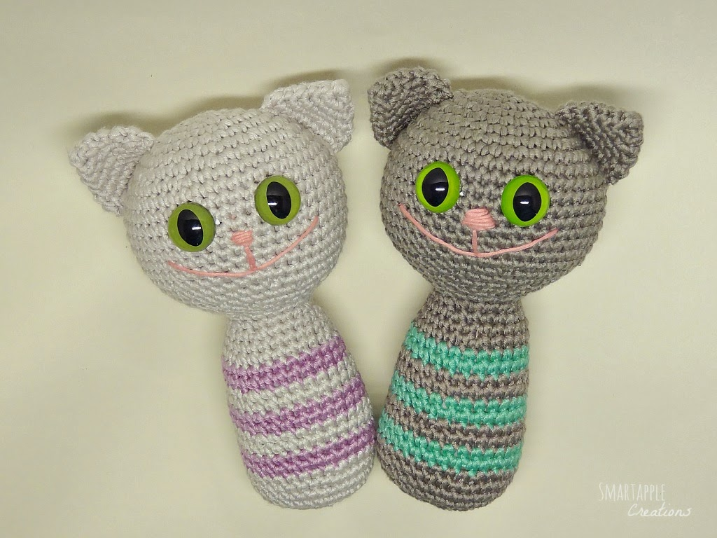 Amigurumi For Baby : Smartapple Creations - amigurumi and crochet: About cats again