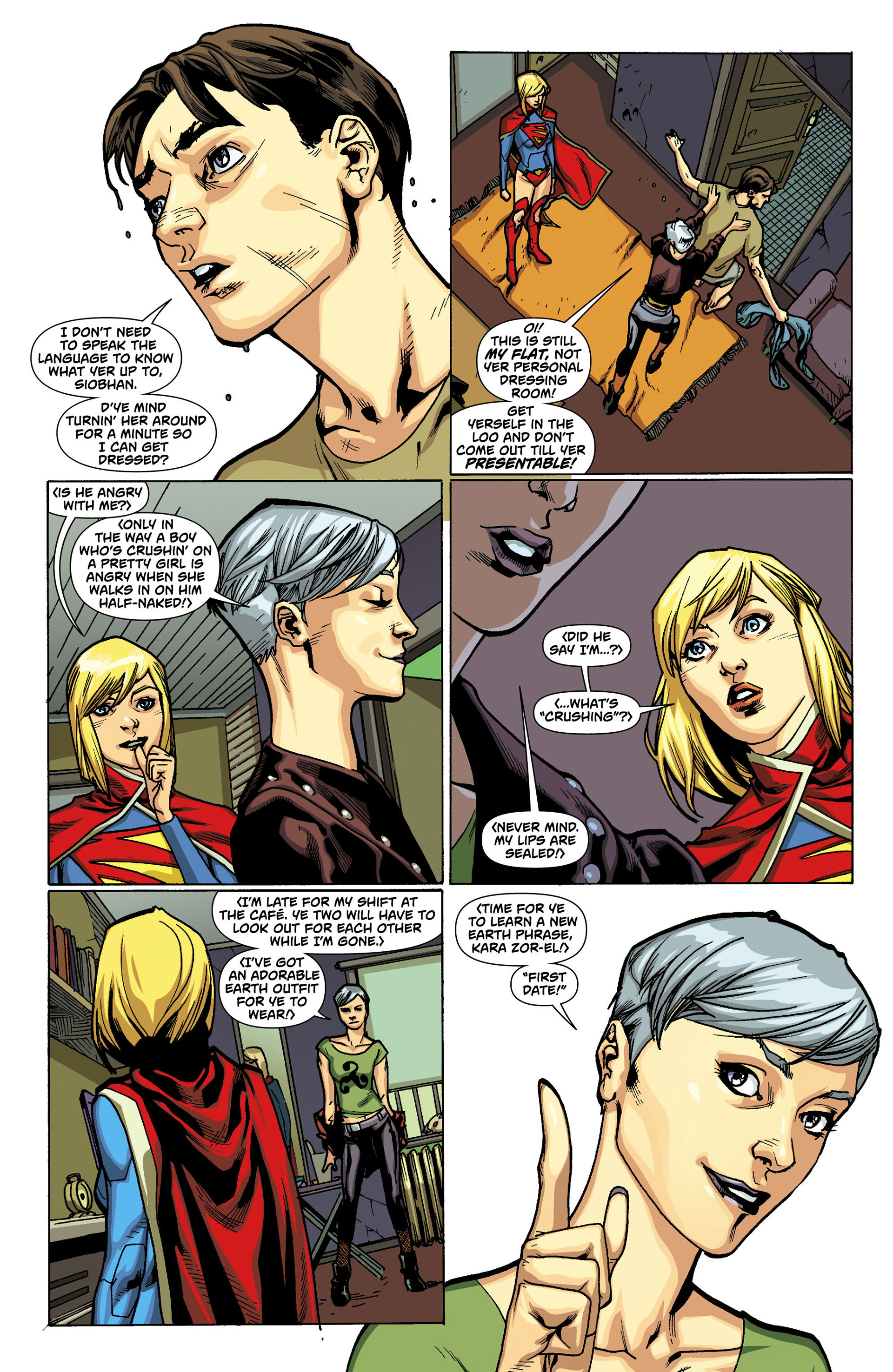 Supergirl (2011) Issue #11 #13 - English 6
