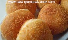 resep praktis (mudah) makanan khas bandung makanan kue odading spesial enak, lezat