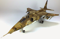 KittyHawk 1/48th Sepecat Jaguar A build Pt II of II