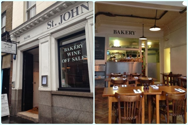St John Bread and Wine, Spitalfields