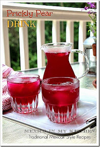 PRICKLY PEAR DRINK-AGUA FRESCA DE TUNA