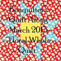 Floral Whole Quilt- Quilt Along