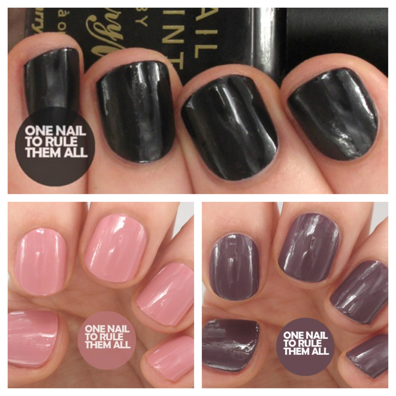 One Nail To Rule Them All: Review Week, Day 3: Barry M - Regular ...
