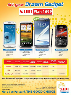 Samsung Galaxy Note 2 from Sun Cellular Postpaid Plan P1699