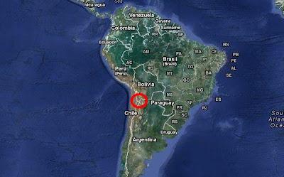 LEVANTAMIENTO POR ACUMULACION DE MAGMA ENTRE ARGENTINA, CHILE Y BOLIVIA