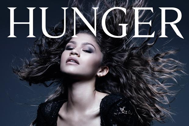 Zendaya lució grandiosa para la portada de la revista Hunger.