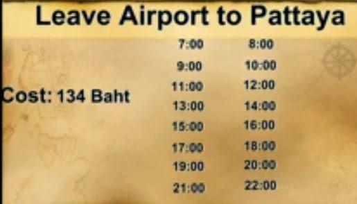 comment aller de bangkok a pattaya