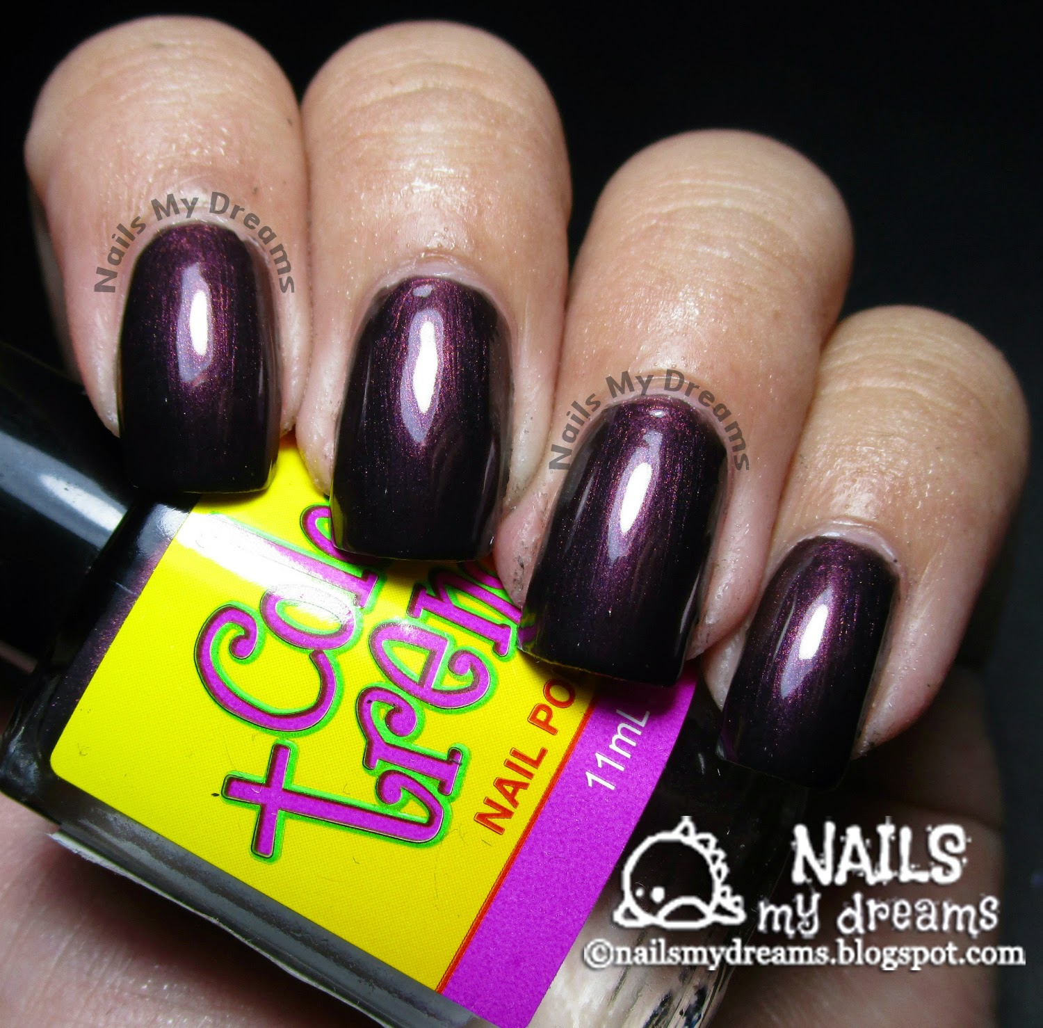 color trends wicked mistress nail polish swatch