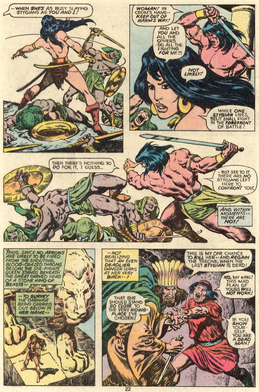 Conan the Barbarian (1970) Issue #93 #105 - English 13
