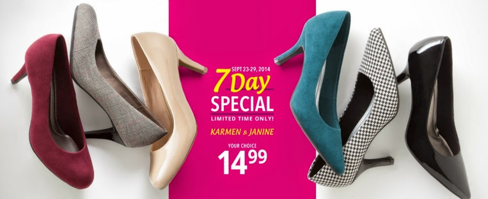 The most comfortable heels and pumps on sale at Payless!