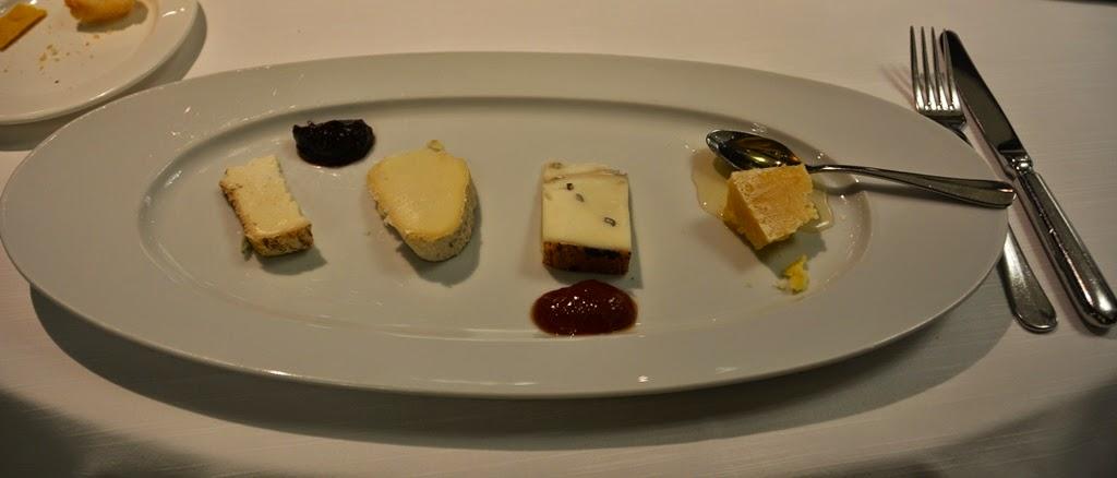 Restaurant Quartopiano Rimini cheese