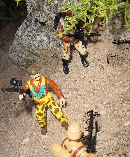 1993 Leatherneck, 1991 Desert Scorpion, Duke, 2004 Desert Patrol Stalker, TRU Exclusive