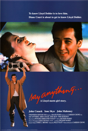 Such a cute movie!!! I love John Cusack as Lloyd Dobler and Ione Skye as ...