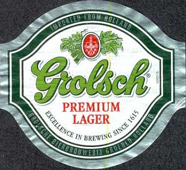 Grolsch Label