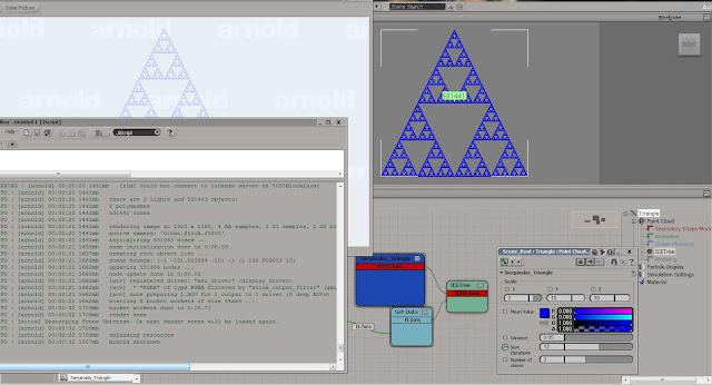 sierpinski's triangle ram