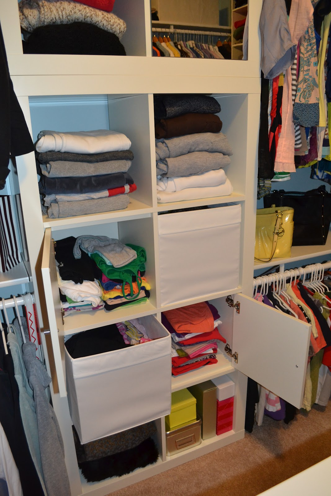 For My Shoes We Purchased A Billy Bookcase From Ikea For $50 With A $20  Height Extension Unit. In Order To Maximize The Space In Your Closet You  Must Go Up!