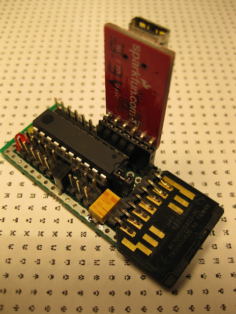 attiny2313 SD card WAV player