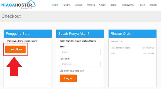 Cara Membeli Domain .Com Murah di Niagahoster