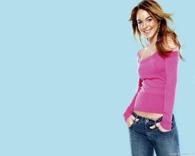 American Actress Lindsay Lohan Wallpaper-1600x1200