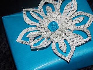 Flores para decorar regalos