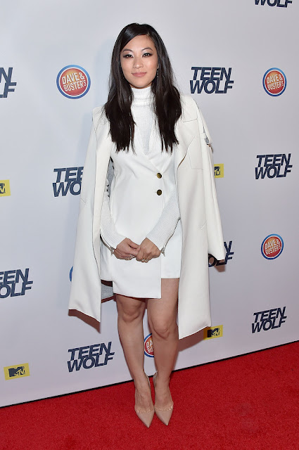 Actress, Singer, Model, @ Arden Cho - 'Teen Wolf' Los Angeles Premiere Party