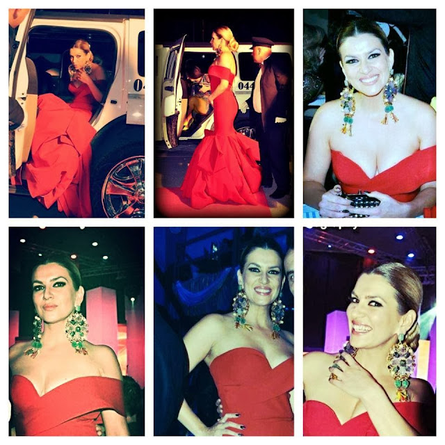 "Leonora Jakupi tek ""Zhurma Show Awards 2013"""