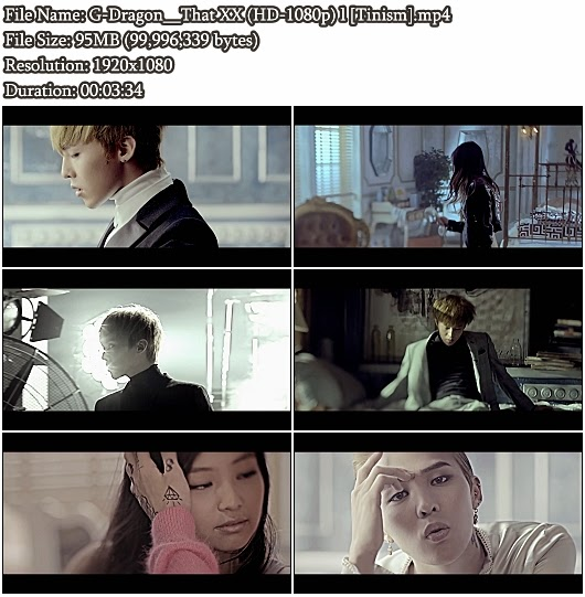 Download MV G-Dragon - That XX (그 XX) (Full HD 1080p)