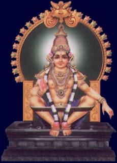 Picture of Lord Ayyappa 108 Sarana Gosham Swamiye Saranam Ayyappa
