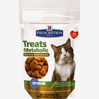 Hill's Prescription Diet Metabolic Cat Treats, #HillsPet, #spon