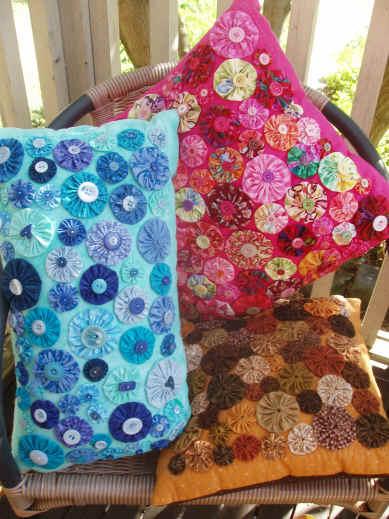 Yoyo cushions
