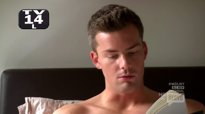 Ryan Serhant Shirtless in Million Dollar Listing New York s1e04