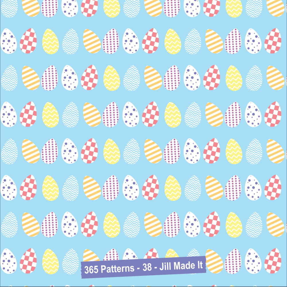 Easter Patterns:  Easter Eggs | Jill Made It