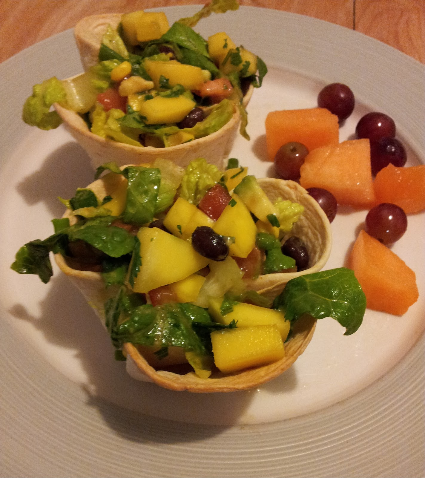 The Mindful Menu: Mini Tostada Salads