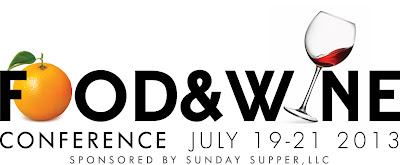 Food & Wine Conference ticket giveaway | www.girlichef.com