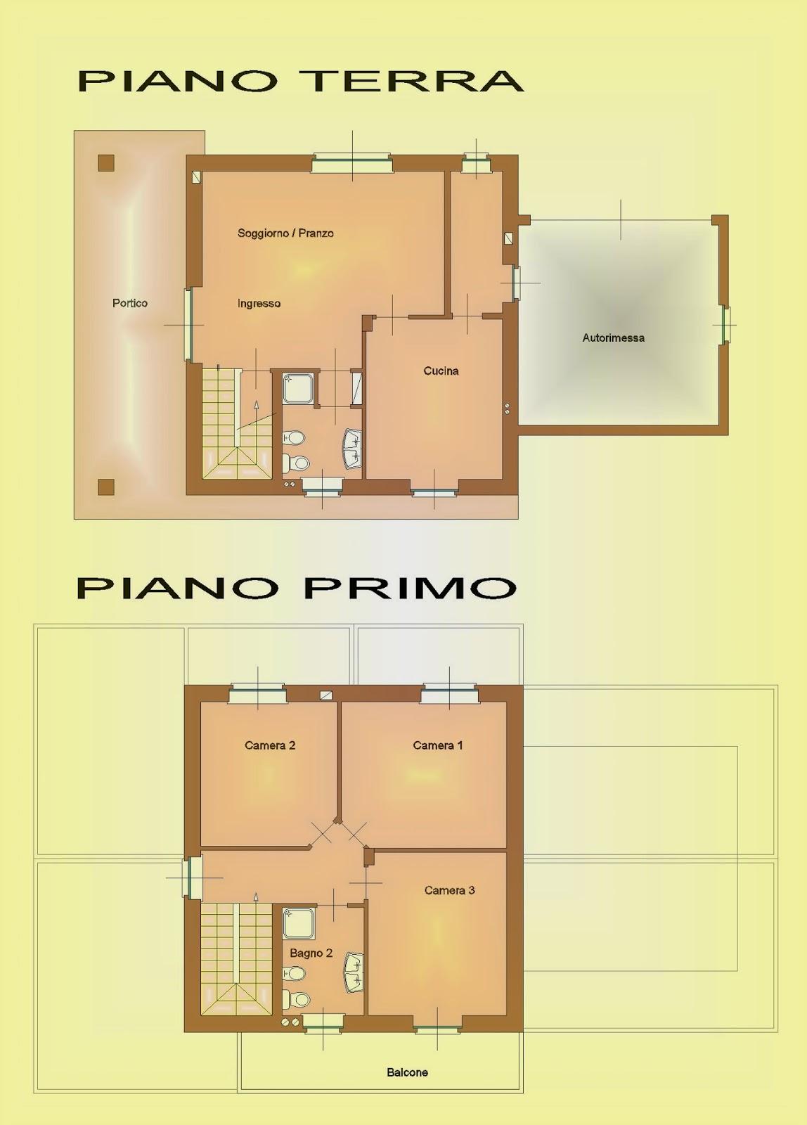 Arstudioprogettazione for Casa a due piani