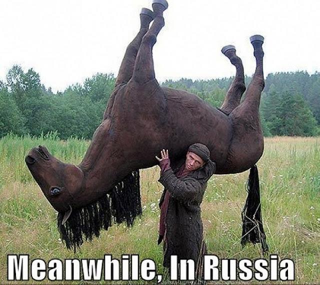 Mientras tanto en Rusia - meanwhile in russia
