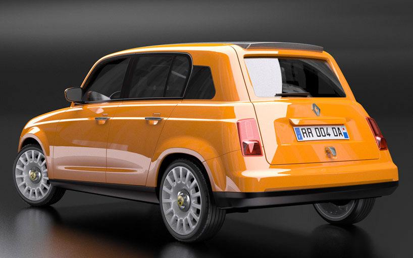 Concept Renault 4
