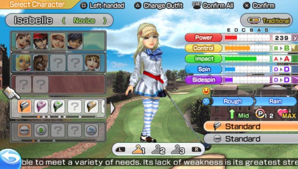 Review Hot Shots Golf World Invitational Vita Digitally
