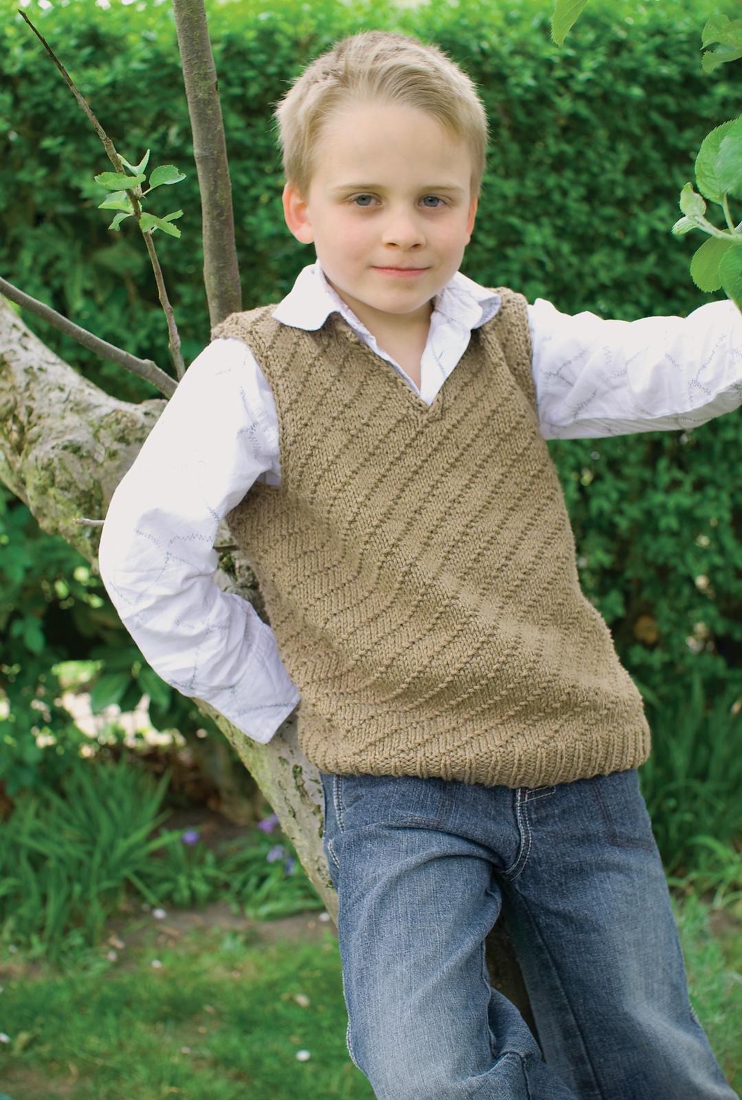 Knitting Pattern For Boys Vest : Knitterella Most of the time I knit?: BLOG TOUR: Boys Knits