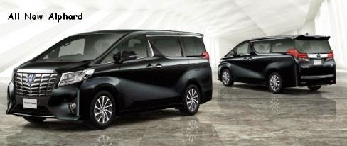 toyota all new alphard 2015