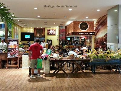 Restaurante Carro de Boi: Fachada da loja do Salvador Shopping