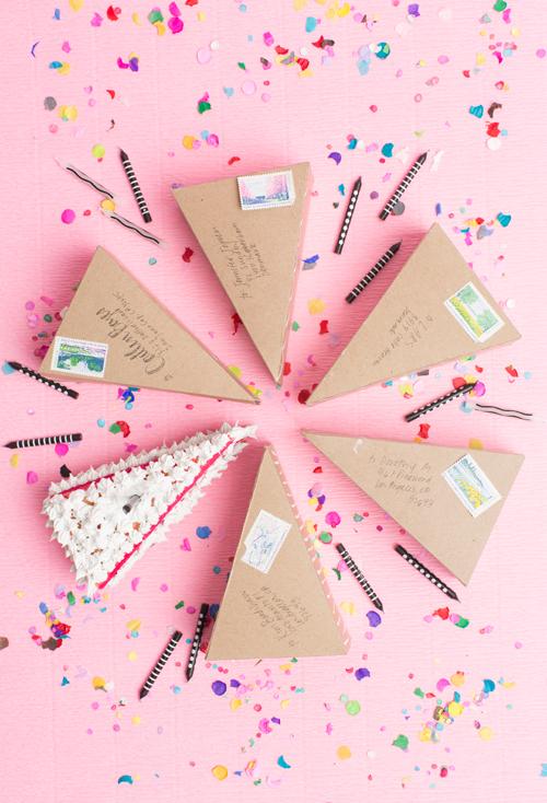 cake/pie boxes from A La Modo