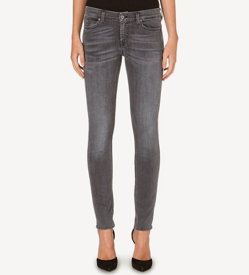 MiH grey skinny jeans