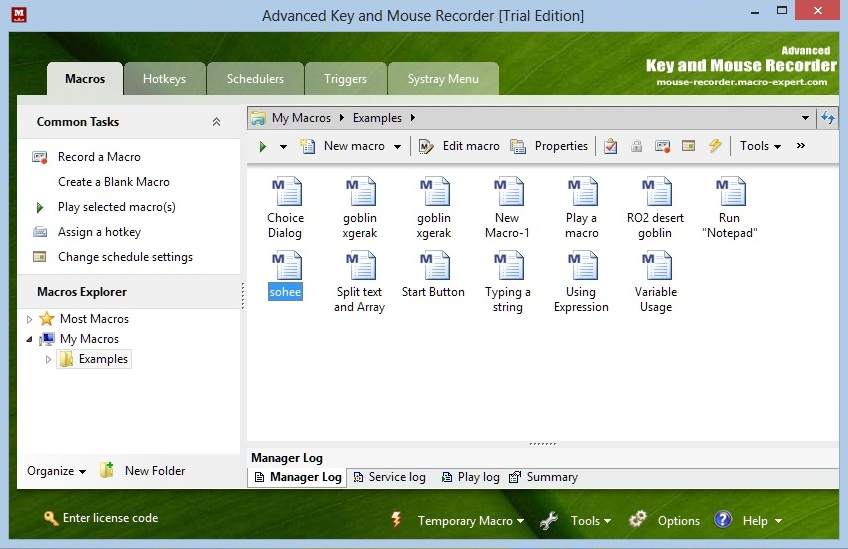 advanced key and mouse recorder license code free