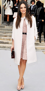 Mila Kunis at Christian Dior March 2012